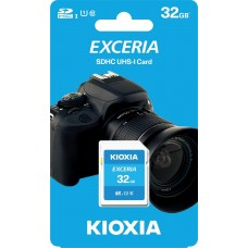 Kioxia Exceria 32GB SD HC UHS-I 100Mb/s Class 10