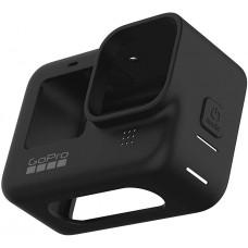 GoPro HERO9 Silikon Kılıfı ve İpi - Siyah ADSST-001