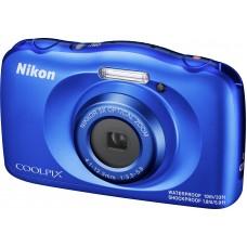 Nikon Coolpix W150 Suya Dayanıklı * Mavi