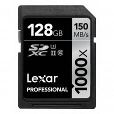 Lexar 128GB Professional 1000x SDHC / SDXC UHS-II