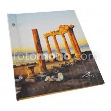 3 Boyutlu 36 Fotoğraflık Albüm * Side Apollo Gün Batımı