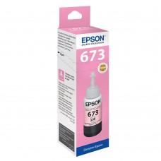 Epson T673 Inkjet Mürekkep Kartuş (Orijinal, Kutulu) LM * Light Magenta