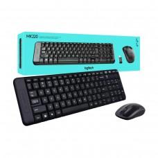 Logitech MK220 Kablosuz Klavye Mouse Set
