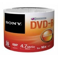 Sony DVD-R 16x - 4.70 GB * 50'li Paket