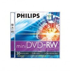 Philips Mini DVD-RV 1.4GB 30 Min.