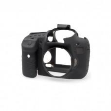 EasyCover Canon 7D için Silikon Kılıf + Ekran Koruyucu - Siyah