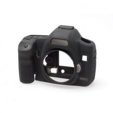 EasyCover Canon 5D Mark II için Silikon Kılıf + Ekran Koruyucu - Siyah