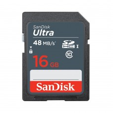 SanDisk Ultra SDHC 16GB 48MB/s Class 10 UHS-I