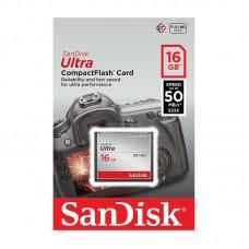 Sandisk 16GB CF Ultra 50MB/s Compact Flash Hafıza Kartı