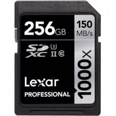 Lexar 256GB 1000x SDXC UHS-II U3 Class10