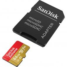 SanDisk 64GB Extreme UHS-I microSDXC Hafıza Kartı