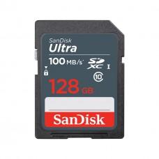 SanDisk Ultra 128GB SDXC UHS-I Class 10 100MB/s SDSDUNR-128G-GN3IN