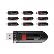 Sandisk 16GB USB 3.0 Cruzer Glide - 10 Adet